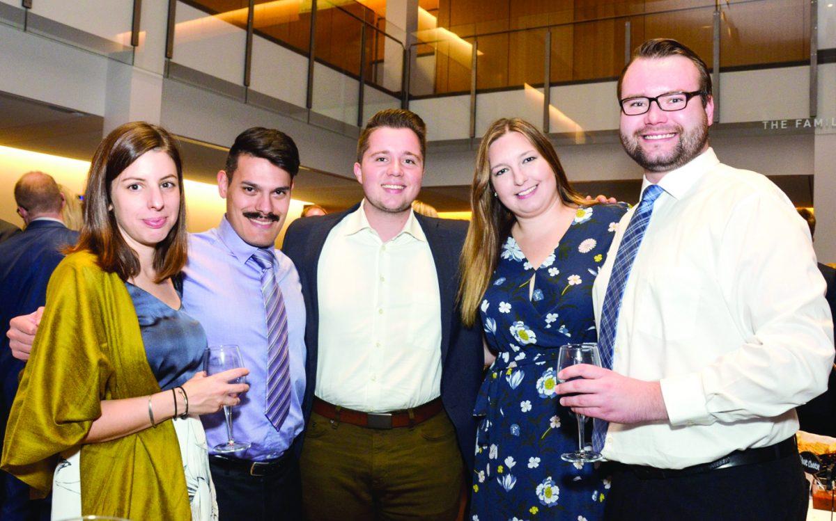 Christine Galloway, Adrian Seyfart, David Vandenburg, Catherine Jabwica and Darcy Oberding
