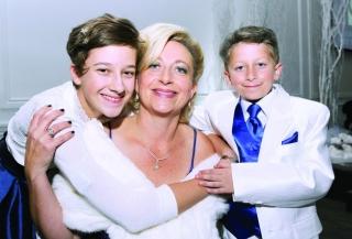 Christina Marineau, Emma and Zachary