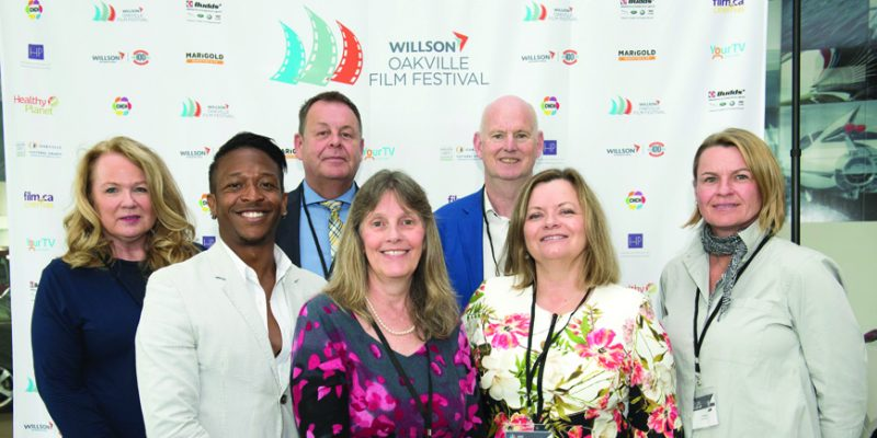 Launch of fifth annual Willson Oakville Film Festival at Budd's Cadillac, Oakville.