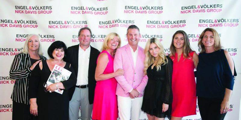 Nick Davis Group Engel & Volkers Oakville client appreciation event at Tesla Oakville.