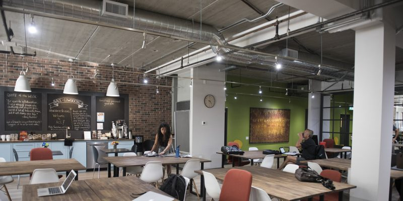 The rise of suburban co-working
