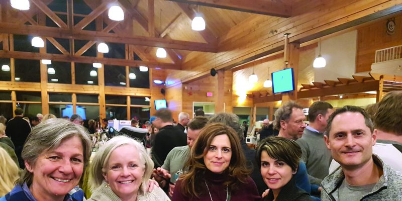 Athletic Development Fund fundraiser at Caledon Ski Club