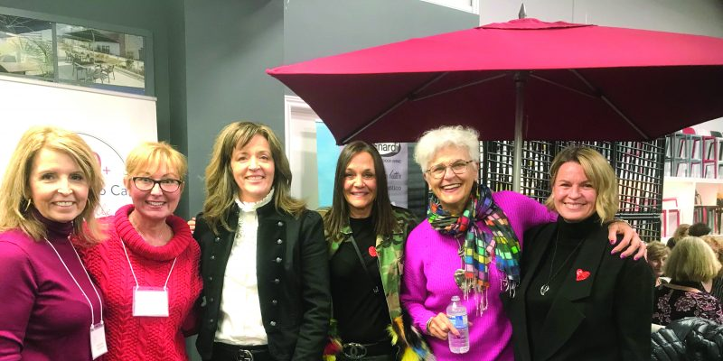 100 Women Who Care meeting at BUM Contract Furniture