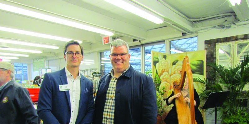 Mississauga/Oakville Sheridan Garden Boutique grand opening
