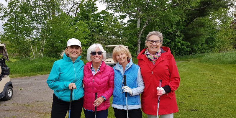 11th Annual Ladies' Nine & Dine Golf Tournament for Community Living Oakville at Royal Ontario Golf Club, Hornby