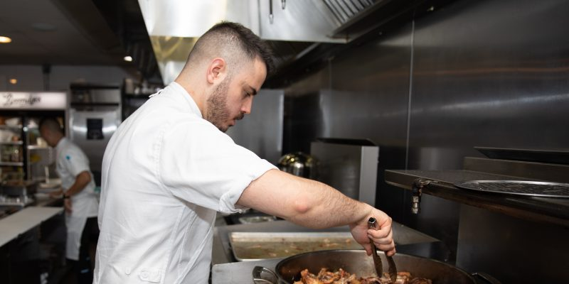 Celebrate a win with Chef Rafael Covarrubias