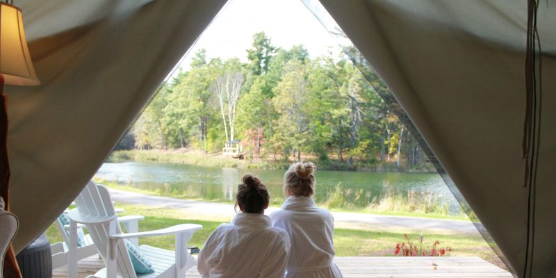 Luxury adventures in a time of pandemic distancing: Bartlett Lodge and Whispering Springs