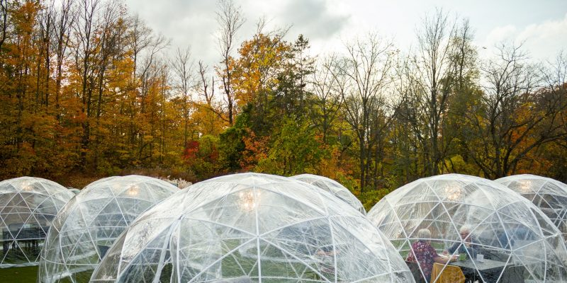 Navigate West: Experience the dome